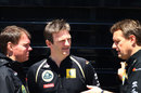 Alan Permane, James Allison and Steve Nielsen discuss Renault's options