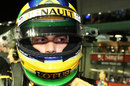 Bruno Senna on the grid