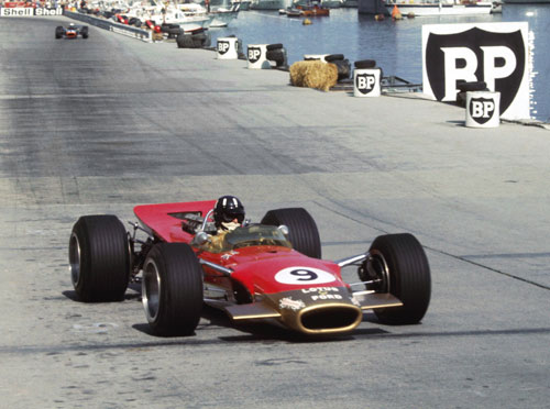The master of Monaco Graham Hill