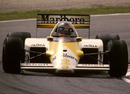 Keke Rosberg driving the one-off Marlboro Lights McLaren