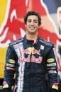 Daniel Ricciardo tests for Red Bull