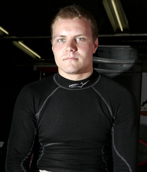Valtteri Bottas winner of the Formula 3 Masters event
