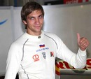 Vitaly Petrov takes pole position for the GP2 race in Portugal