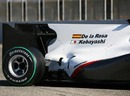 The back half of the new BMW Sauber C29