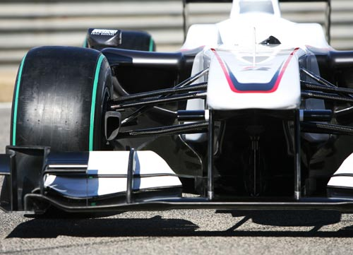 A head-on look at the new BMW Sauber C29