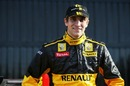 Driver Vitaly Petrov at the Renault R30 Launch