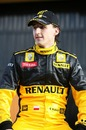 Driver Robert Kubica at the Renault R30 Launch