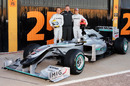 Mercedes W01 launch gallery