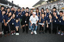 Kamui Kobayashi with the Fukushima girls choir