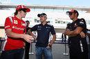 Fernando Alonso amuses Lewis Hamilton and Pastor Maldonado
