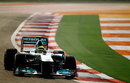 Nico Rosberg exits turn 11
