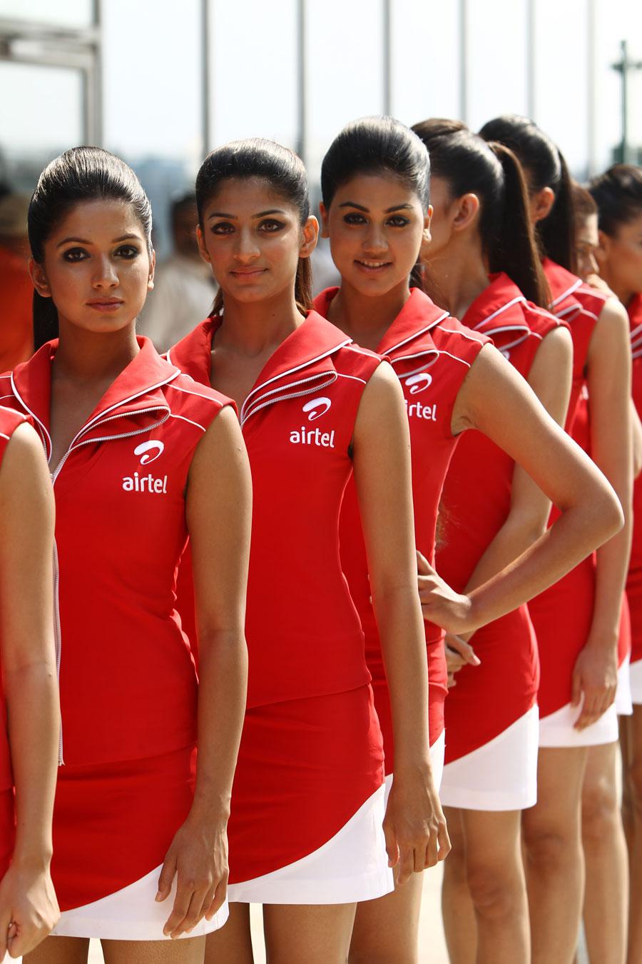 Indian GP grid girls