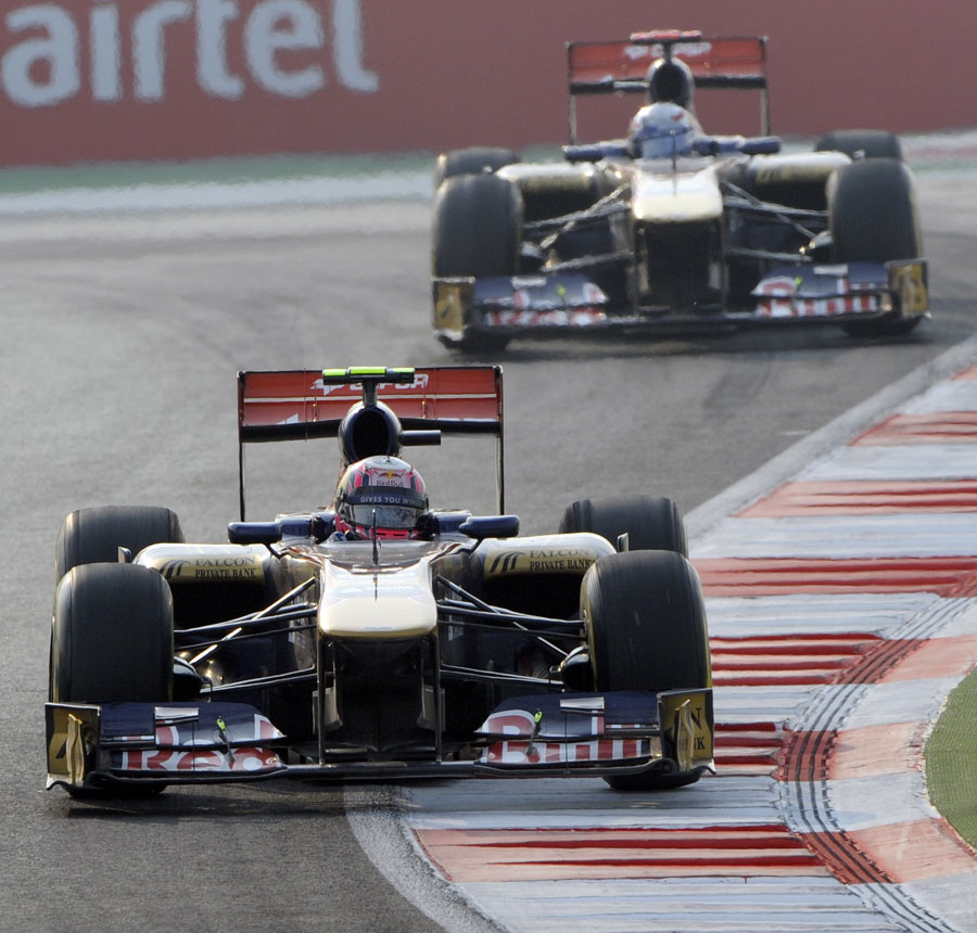 12520 - New driver line-up at Toro Rosso