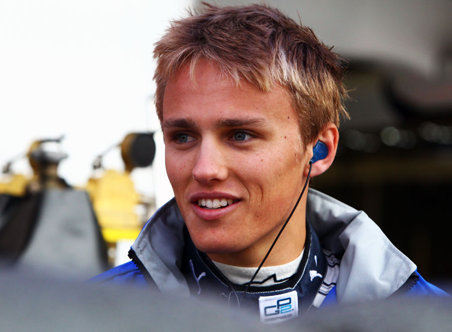 Max Chilton on the grid