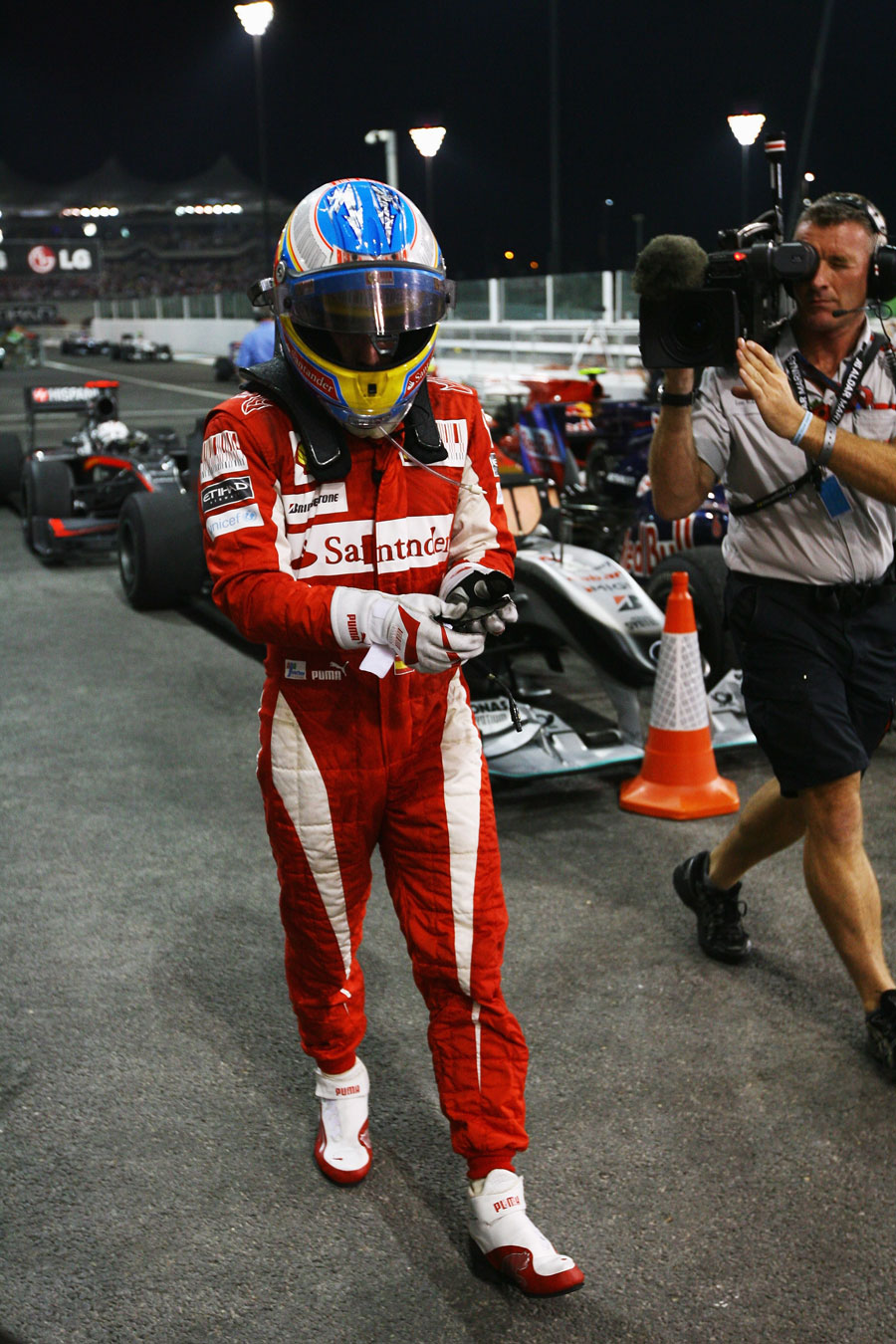 There was title disappointment for Fernando Alonso
