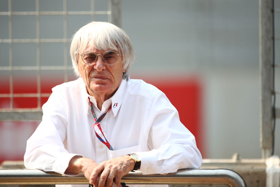 12601 - Europe 'finished' for F1 - Ecclestone