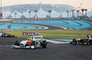 Paul di Resta leads Sebastien Buemi in to turn seven