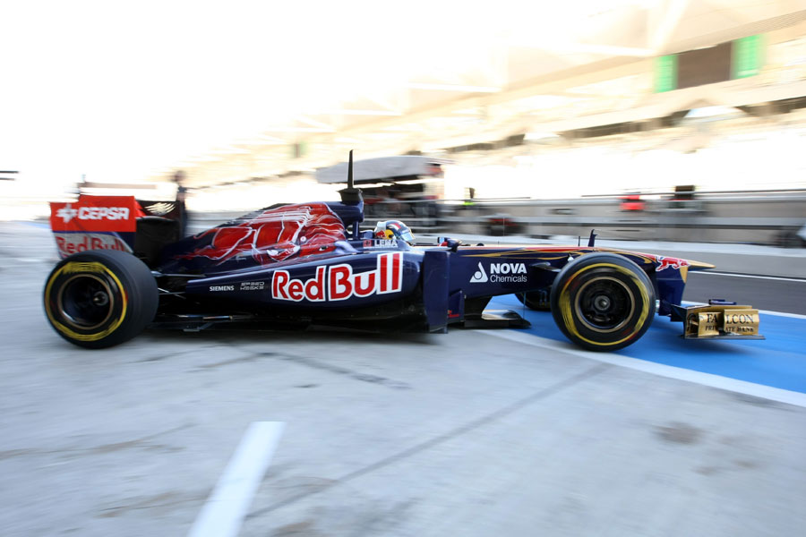 Stefano Coletti leaves the Toro Rosso garage