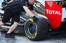Wheel sensors on the Renault