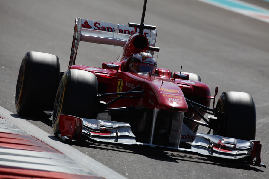 Jules Bianchi looks for his turn-in point