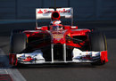 Jules Bianchi squints through the sun on the final day