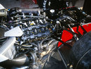 The Honda RA168-E V6 engine in the back of the McLaren MP4-4