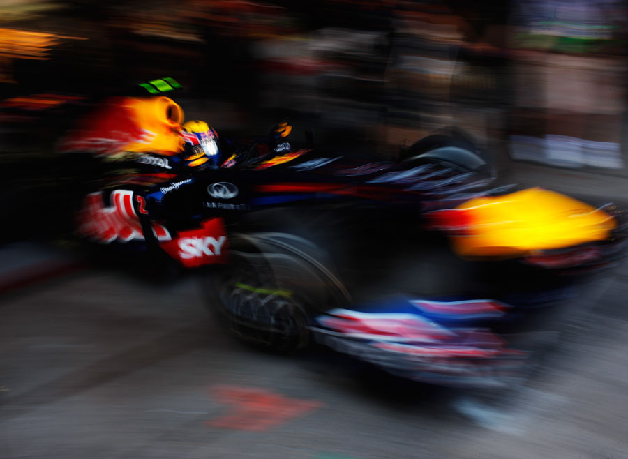 12861 - Last dry test for Red Bull - Webber