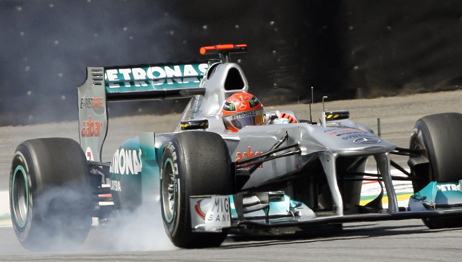 12884 - Testing ban hurting Schumacher