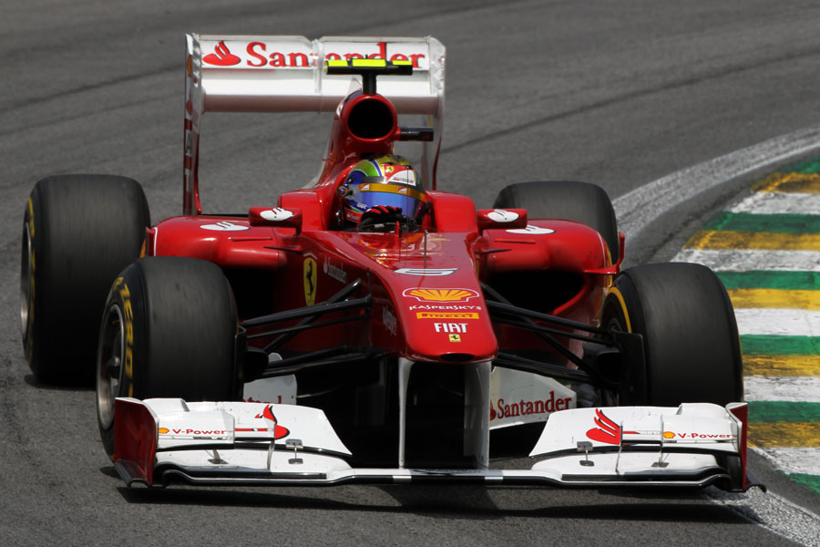 Felipe Massa aims for the apex