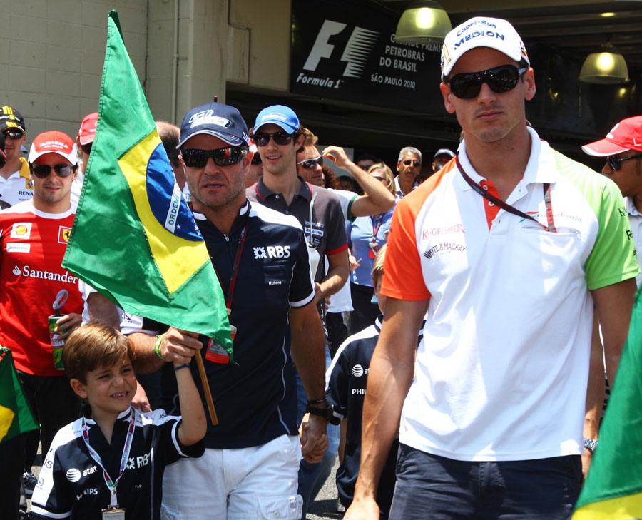 12978 - Barrichello and Sutil unmoved by Raikkonen news