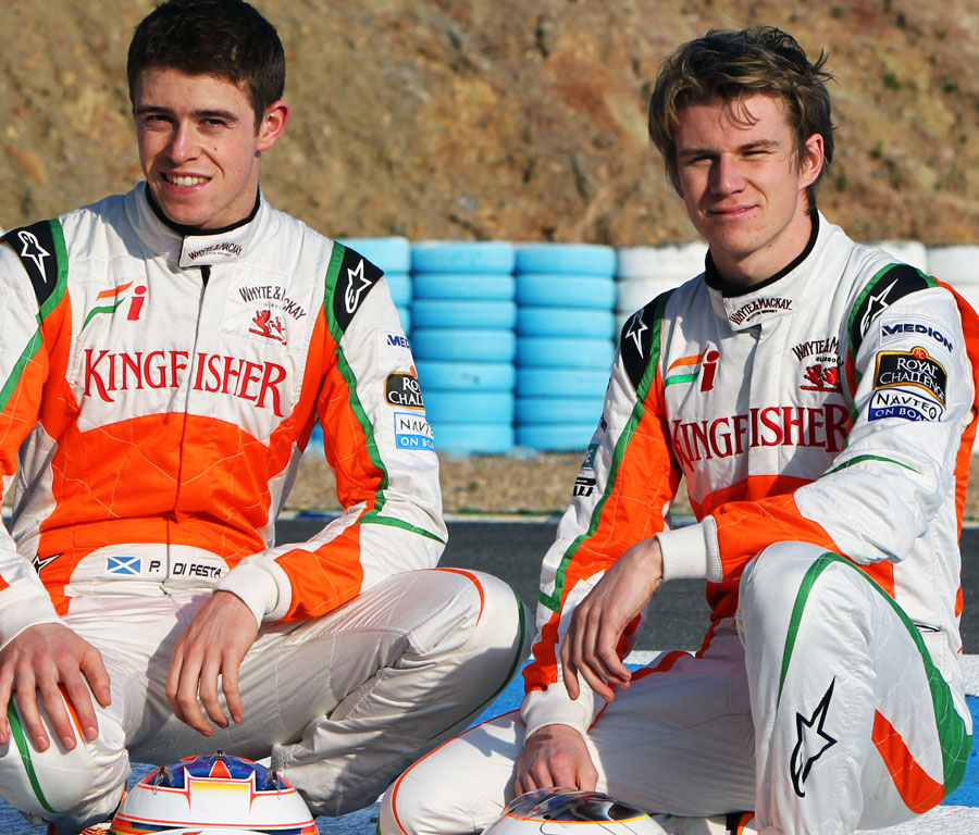 13055 - Drivers equal at Force India
