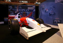 Ayrton Senna's McLaren MP4/8 at the Autosport International Show