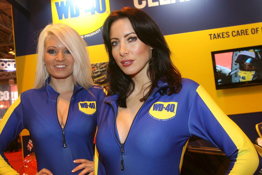Glamour at the 2012 Autosport International Show