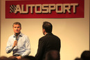 David Coulthard on the main stage