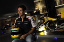 Bruno Senna in the Williams museum
