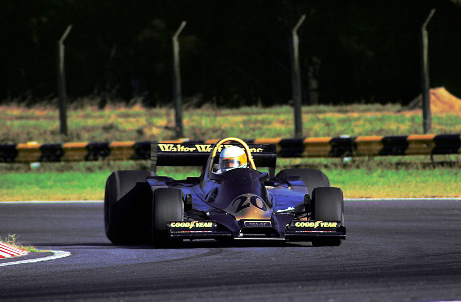 Jody Scheckter took Wolf's first win