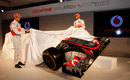 Lewis Hamilton and Jenson Button unveil the new McLaren MP4-27