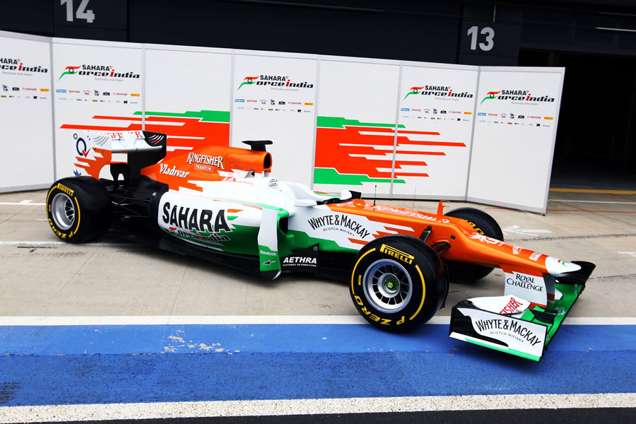 Force India's new VJM05