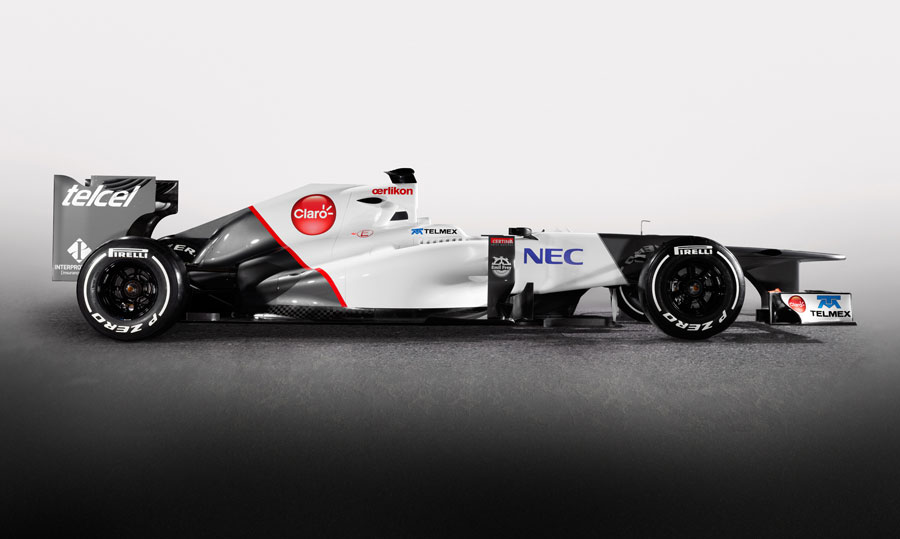 The new Sauber C31