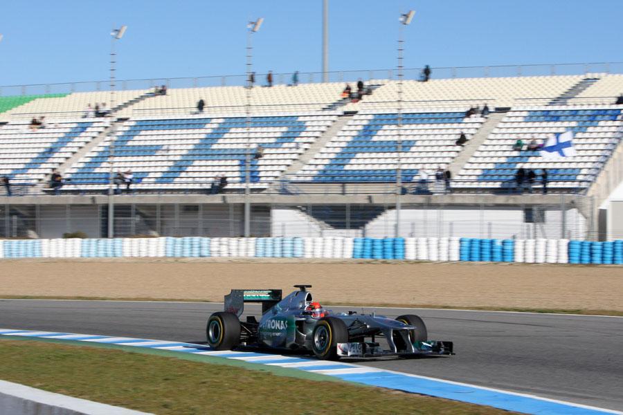 13320 - Schumacher wants reliable W03