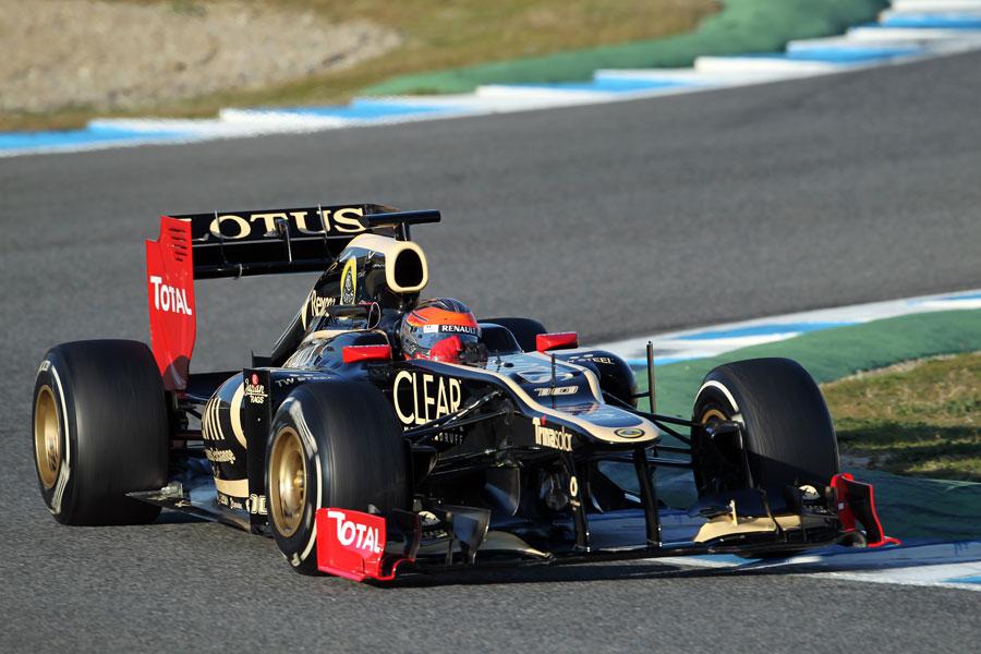 13353 - Grosjean 'trusts' new Lotus
