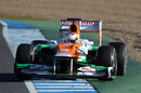 Paul di Resta in the Force India VJM05 out on track