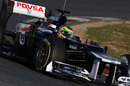 Bruno Senna rounds turn five in the FW34