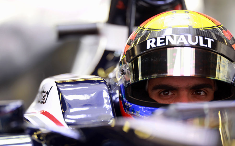 Pastor Maldonado contemplates his next run