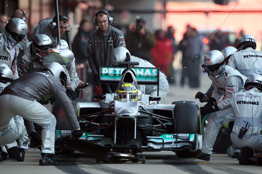 13542 - 'We've made big steps as a team' - Rosberg
