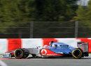 Jenson Button in the McLaren MP4-27
