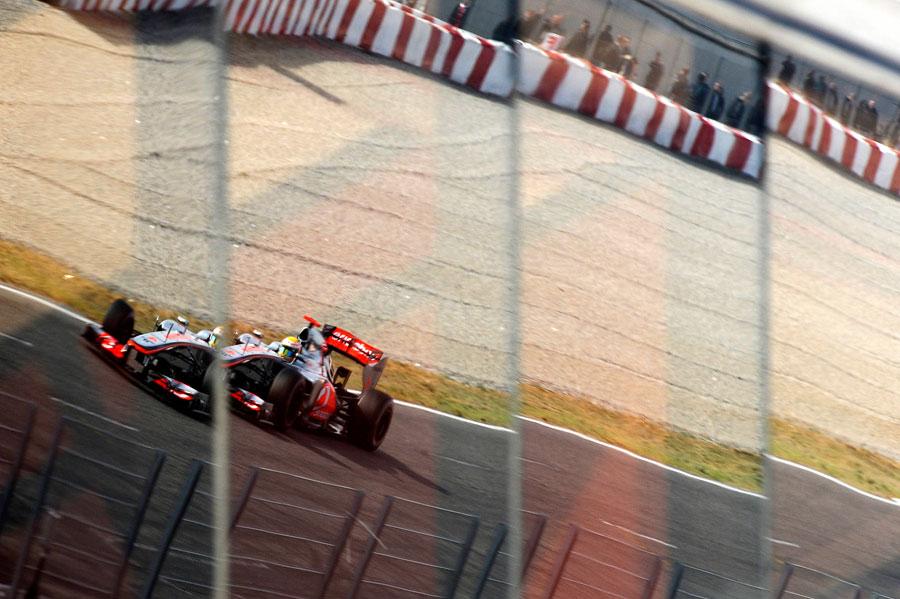 13694 - Hamilton yet to run McLaren on low fuel