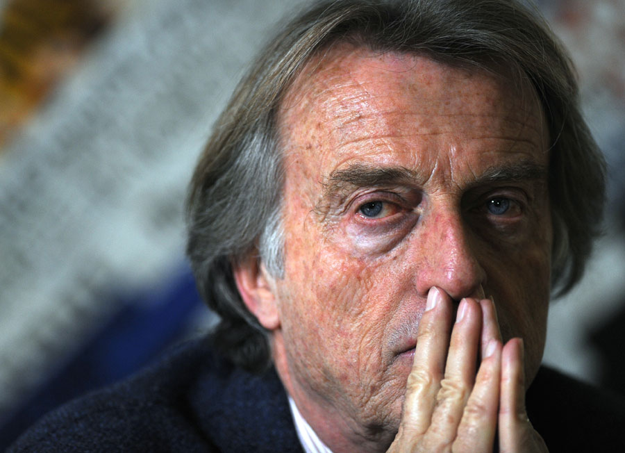 Ferrari president Luca di Montezemolo speaks to Foreign Press Association