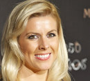 Female driver Maria de Villota attends Moet Chandon 250 Anniversary party at the French Embassy