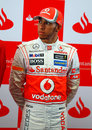 Lewis Hamilton at the announcement of Formula Santander Scholarships